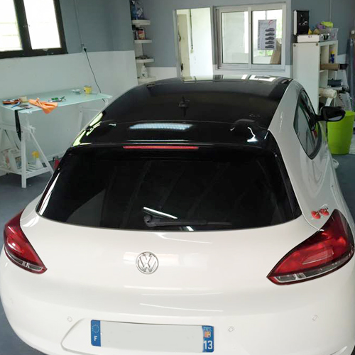 Wrap design miramas for Garage volkswagen salon de provence